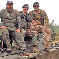Tank crew mode (leading), 2013