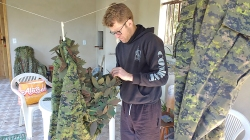 Fazendo camuflagem RRC